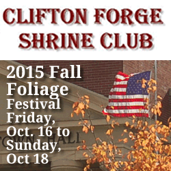 FALL FOLIAGE FESTIVAL @ Downtown Clifton Forge, Va